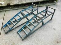 **SSTC** X2 Metal Car Ramps