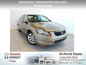 2010 Honda Accord EX, TOIT OUVRANT, A/C, CRUISE, COMME NEUF!