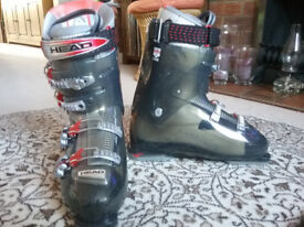 Very lightly used Head Edge+ ski boots, Mondo size 30