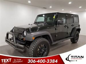 2012 Jeep WRANGLER UNLIMITED 4x4 Sport|Manual|RIMS TIRES BUMPERS