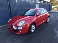 Alfa Romeo Mito - Low Mileage - Excellent Condition