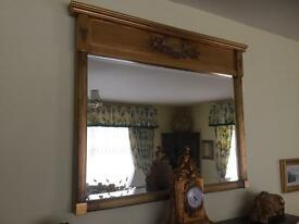 Large High Quality Gilt mirror