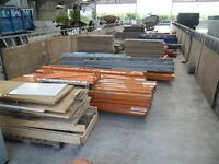 Job Lot - Various sizes Racking with boards
