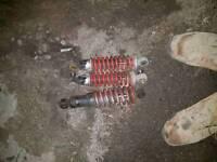 Quad bike suspension