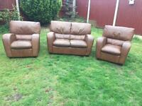 3 piece sofa suite great condition free delivery
