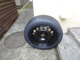 Spare Full size wheel for Peugeot 3008 17inch