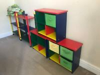 Kids shelves and bookcases