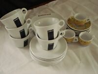 Variety of crockery