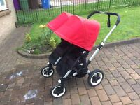 Twin Buggaboo Buggy for sale. Perfect for all weather conditions. £250 ono