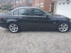 BMW 3 Series 2.0 320d Exclusive 4dr BLACK/ LEATHER/ FULL BMW SERVICE HISTORY