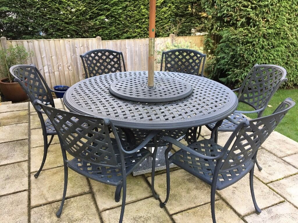 BRAMBLECREST Aluminium Garden Table with 6 x chairs  : 86 from www.gumtree.com size 1024 x 768 jpeg 234kB