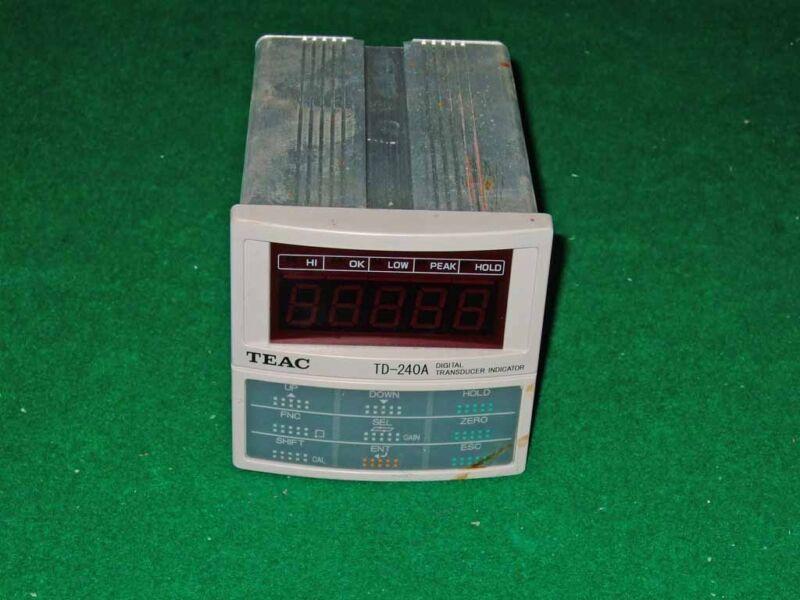 Teac Td-240a Digital Transducer Indicator