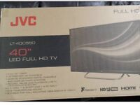 "40"" JVC Slim LED Slim HD1080p Freeview£160 ( I can Deliver)"