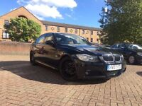 BMW 320d 2007 M SPORT LONG MOT BLACK LEATHER CHEAP BARGAIN 325 330 318 520 530 525 MSPORT