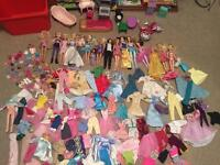 15 Barbie dolls, loads of clothes and more