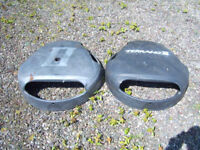 Terrano Spare Wheel Covers - Blairgowrie - free to uplift