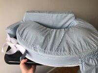 Baby feeding pillow. Nearly new