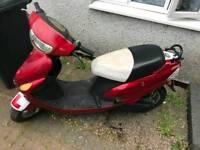 DB 50cc sports Moped