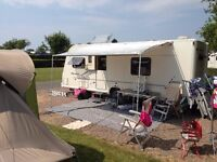 Fiamma Caravan Awning with side panel