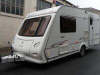 Elddis Avante Two Berth Plus Awnings Motor Mover