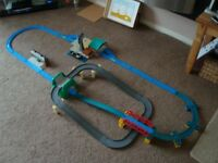 Thomas the tank engine Cranky at the docks de luxe action set