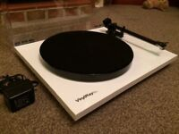Flexson/rega rp1 turntable with built in phono pre amp
