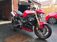 2010 Triumph Street Triple 675 - FSH, Low Milage, Looked after