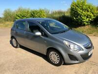 2011 Corsa 1.2 S, 12 months mot, service history, 3 months warranty, credit/debit cards accepted