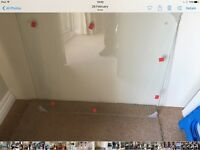 Clear Toughened Glass Splashback