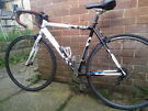 Road bike, size 53cm (21 inches), 8x2 gears, made in UK