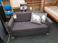 Small grey sofa bed