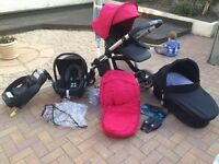 Icandy apple two pear travel system
