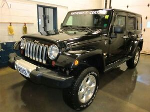 2013 Jeep WRANGLER UNLIMITED Sahara-4DR-CERTIFIED