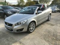 2012│Volvo C70 2.0 D3 SE Lux Solstice Geartronic 2dr│1 OWNER FROM NEW│12 MONTHS WARRANTY│2 KEYS