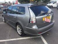 2006 saab 93 se 2.0 t automatic with flappy paddels leather new tyres v versatile touring estate wow