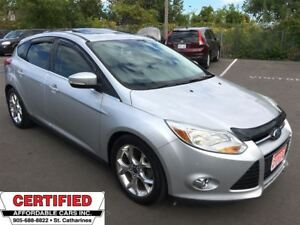 2012 Ford Focus SEL ** HTD LEATH, DUAL CLIMATE, BLUETOOTH **