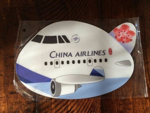 Airplane Mouse Pad China Airlines Rare Collectible New Last One