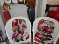 wicker wood chairs