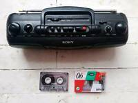 SONY CASSETE PLAYER /RECORDER