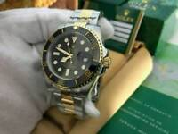Rolex Submariner Date Black Dial two tone