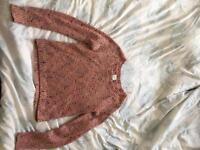 SIZE10 pastel jumper