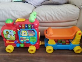 Vtech push and learn activity train