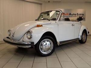 1979 Volkswagen Beetle Cabriolet, Rare!