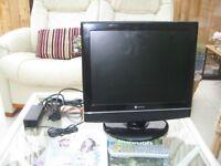14inch; TV, & DVD Player