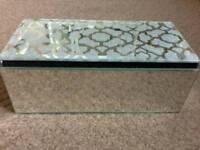 New crystal jewellery box
