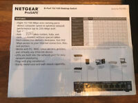 Brand new Netgear Prosafe 8 port 10/100 desktop switch