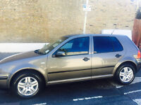Volkswagen VW Golf Grey colour Automatic / 2003 for sale
