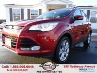 2013 Ford Escape SEL $173.02 BI WEEKLY!!!