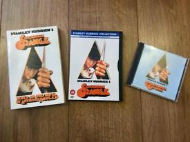 Clockwork Orange DVD Book and CD Great condition
