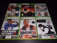 Xbox 360 - Sports collection
